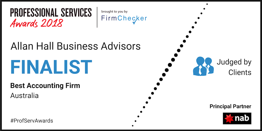 Finalist for Best Accounting Firm in Australia