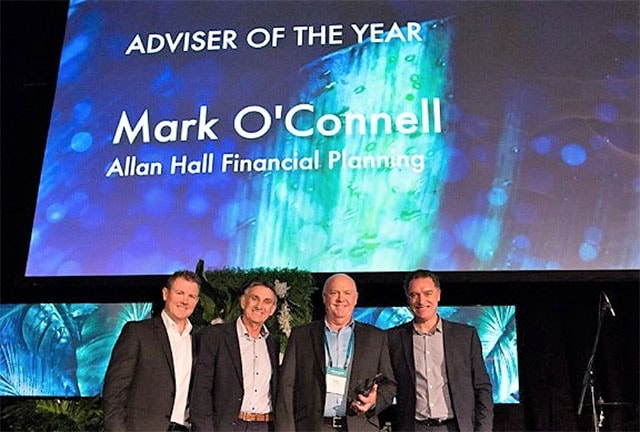 Mark O'Connell wins Adviser of the Year award
