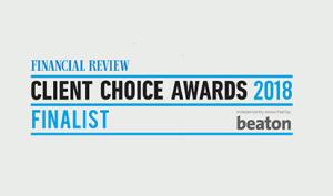 Allan Hall award finalist 2018