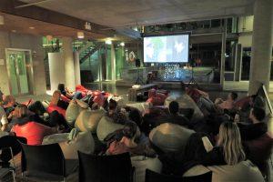 allan hall movie night