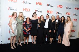 Allan Hall HR Team at the HR Awards 2019