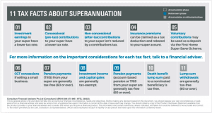 11 facts about superannuation